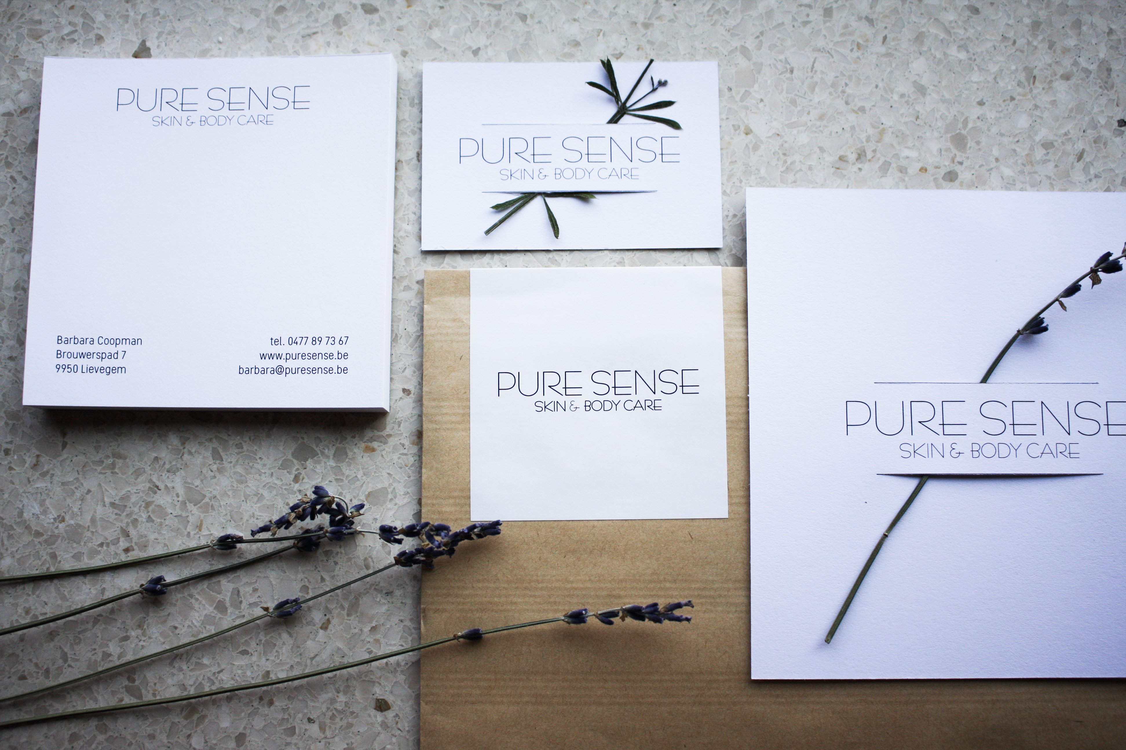 Pure Sense - Skin & Body Care / photo by Anders Design